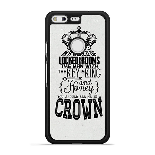 You Should See Me In A Crown Moriarty Quote Google Pixel case