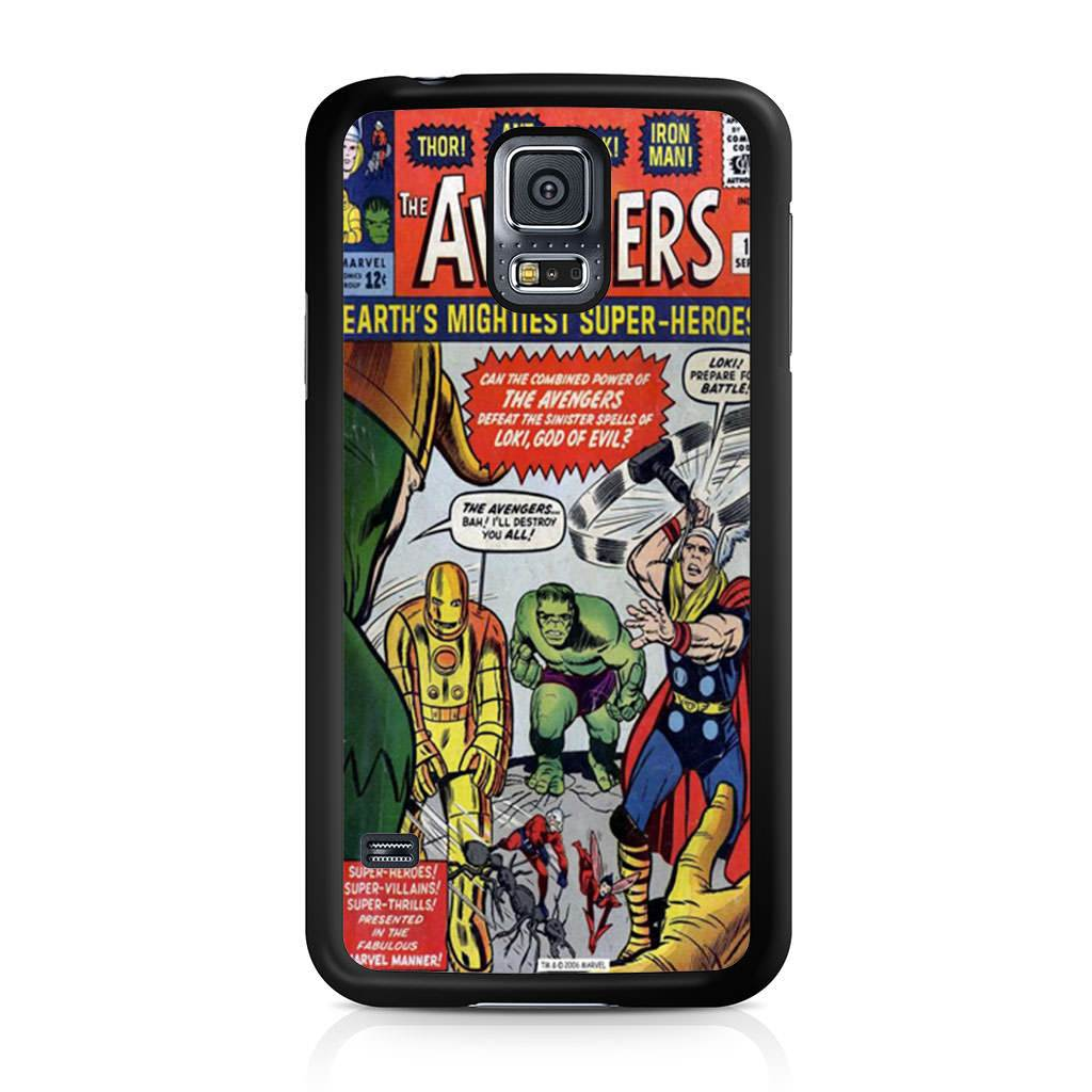 new product c63cd bf448 Avengers Comic Samsung Galaxy S5 case — Case Persona