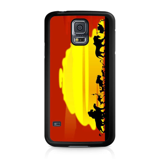 The Lion King Sunset Hakuna Matata Samsung Galaxy S5 case