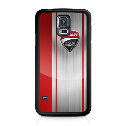 Ducati Corse Red Logo Samsung Galaxy S5 case