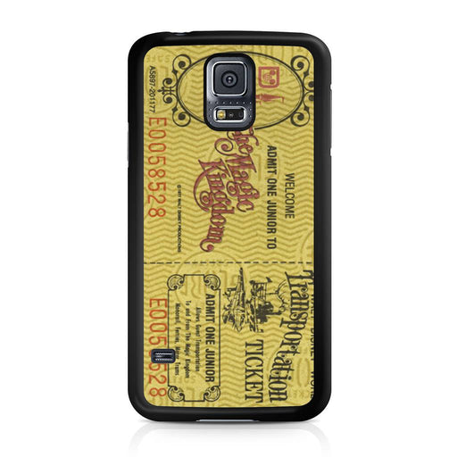 Transportation World Disney World Vintage Disneyland Samsung Galaxy S5 case