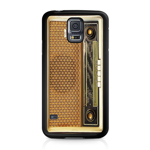 Retro Vintage Old Radio Samsung Galaxy S5 case