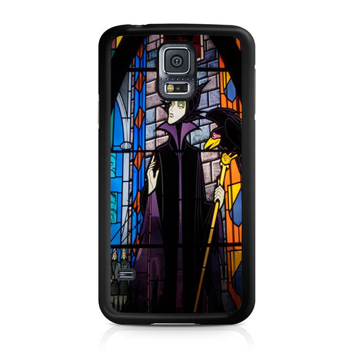 Maleficent Stained Glass Samsung Galaxy S5 case
