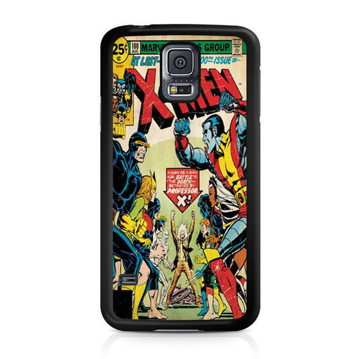 X-Men Retro Comic Book Samsung Galaxy S5 case