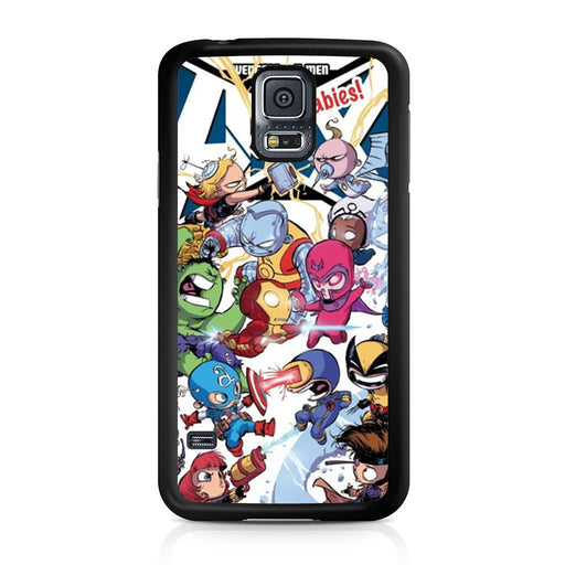Young Marvel Avengers X-Men Babies Samsung Galaxy S5 case