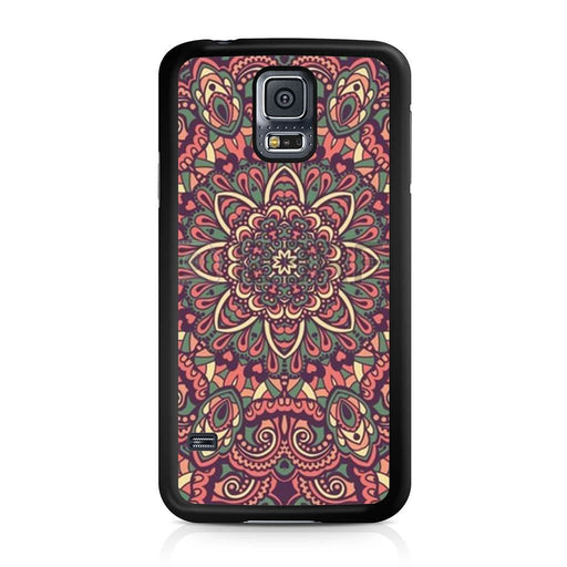 Seamless Mandala Flower Indian Bali Tribal Samsung Galaxy S5 case