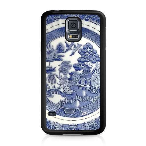 Blue Willow China Pattern Samsung Galaxy S5 case