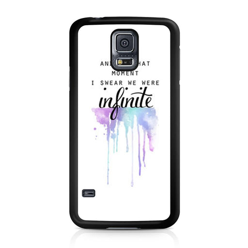 The Perks of Being a Wallflower Quote Samsung Galaxy S5 case