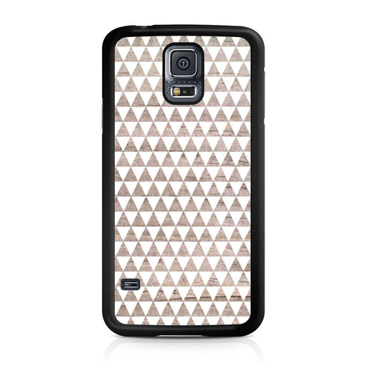 Wooden Triangle Geometric Pattern Samsung Galaxy S5 case