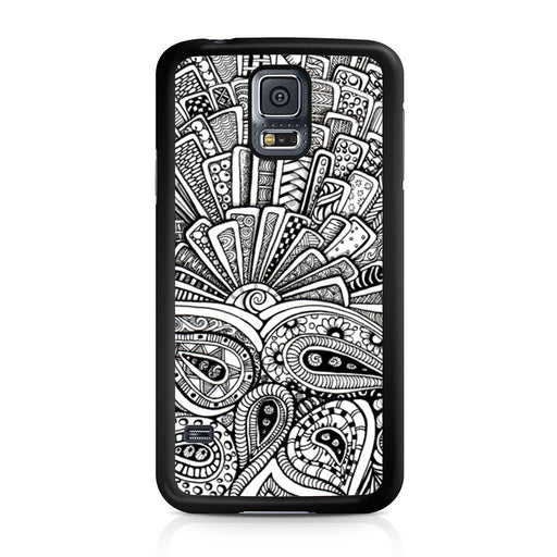 Zentangle Monogram Samsung Galaxy S5 case