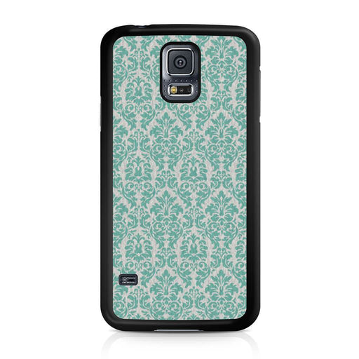 Teal Damask Samsung Galaxy S5 case