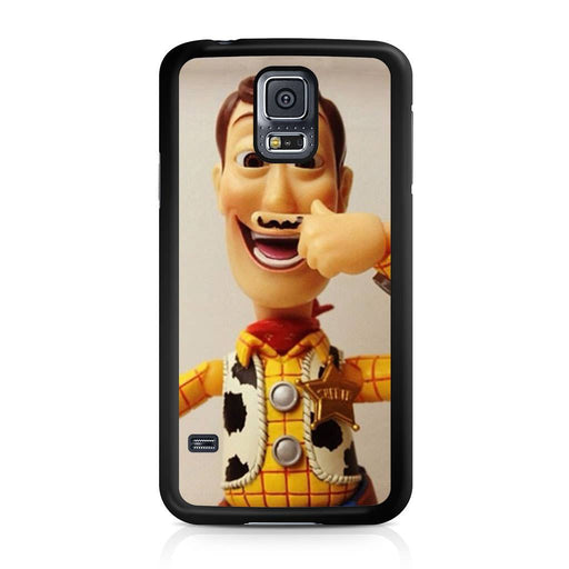 Woody Mustache Toy Story Samsung Galaxy S5 case