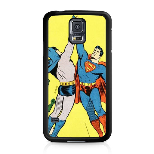 World's Finest Superman Batman Super High Five Samsung Galaxy S5 case