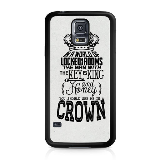 You Should See Me In A Crown Moriarty Quote Samsung Galaxy S5 case
