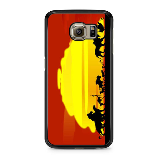 The Lion King Sunset Hakuna Matata Samsung Galaxy S6 case
