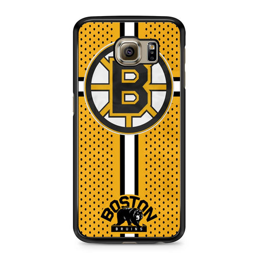 Custom Boston Bruins Hockey Samsung Galaxy S6 case