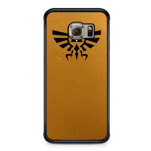 Zelda Triforce Golden Samsung Galaxy S6 Edge case