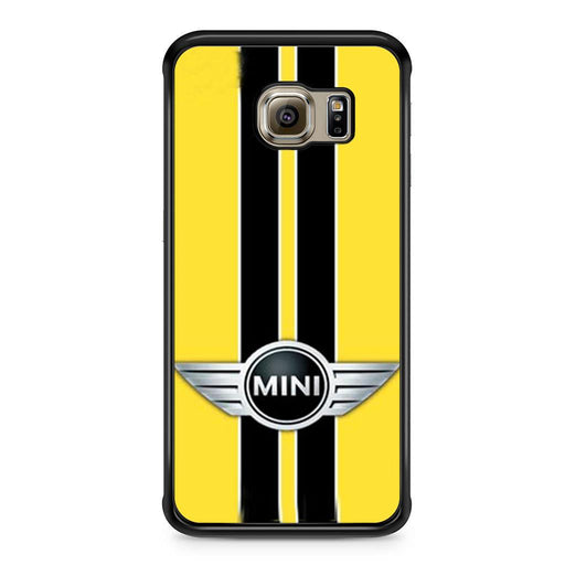 Mini Cooper Style Yellow Samsung Galaxy S6 Edge case