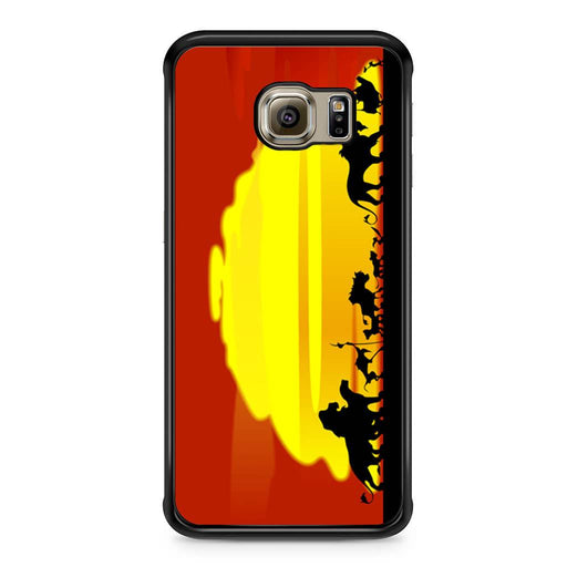 The Lion King Sunset Hakuna Matata Samsung Galaxy S6 Edge case