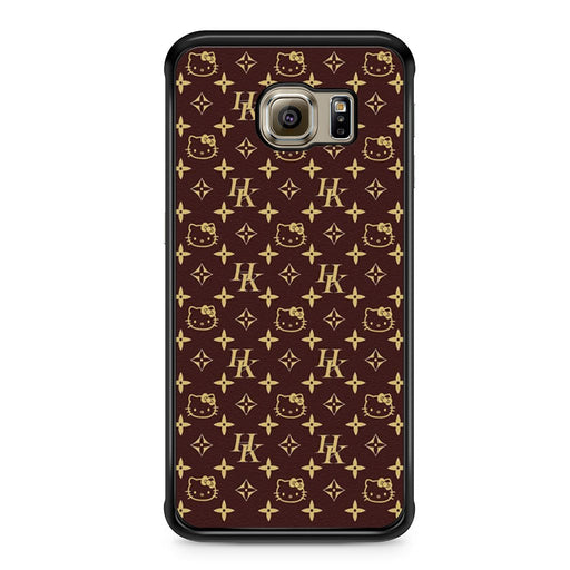 Louis Vuitton Hello Kitty Samsung Galaxy S6 Edge case