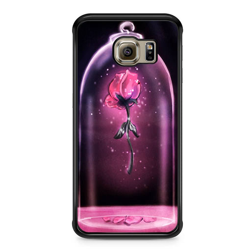 Rose Beauty and The Beast Samsung Galaxy S6 Edge case