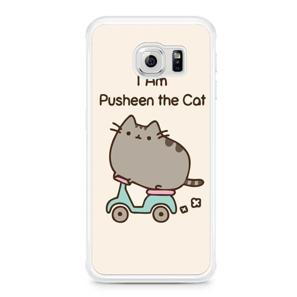 size 40 dd7d2 9aebd I'm Pusheen The Cat Samsung Galaxy S6 Edge case