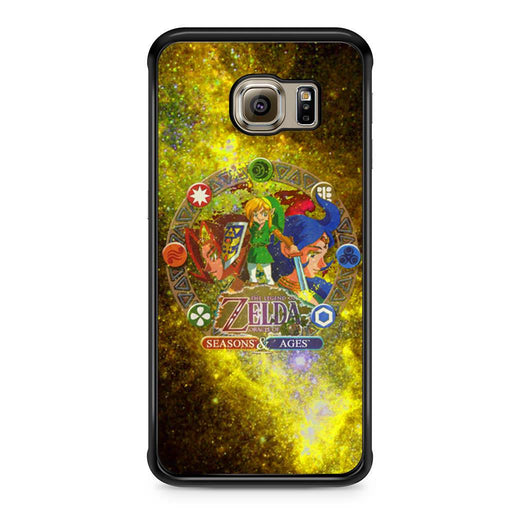 Zelda Seasons and Ages Samsung Galaxy S6 Edge case