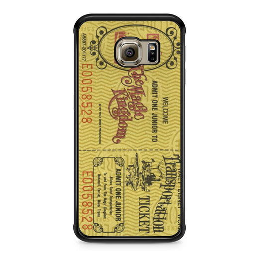 Transportation World Disney World Vintage Disneyland Samsung Galaxy S6 Edge case