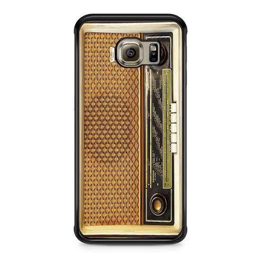 Retro Vintage Old Radio Samsung Galaxy S6 Edge case