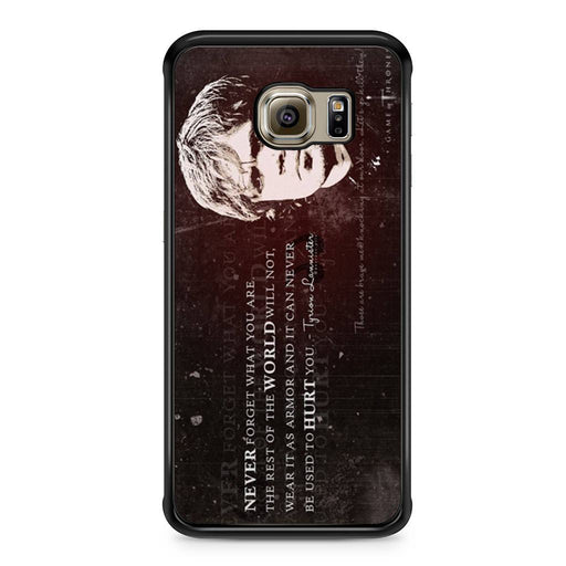 Tyrion Lannister Quote Samsung Galaxy S6 Edge case