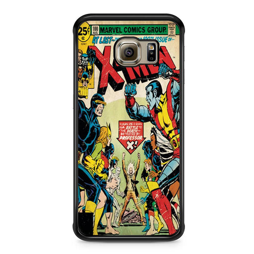 X-Men Retro Comic Book Samsung Galaxy S6 Edge case