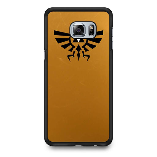 Zelda Triforce Golden Samsung Galaxy S6 Edge+ case