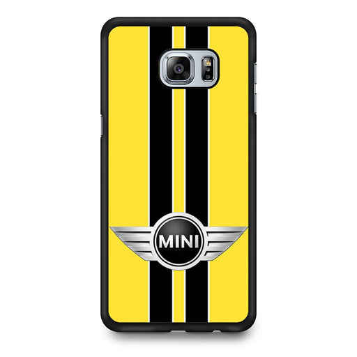 Mini Cooper Style Yellow Samsung Galaxy S6 Edge+ case