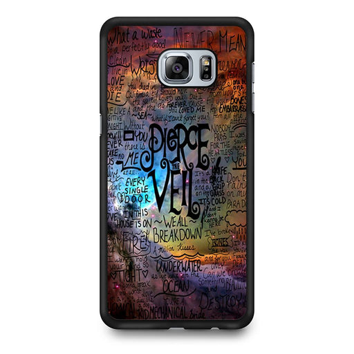 Pierce The Veil Lyric Logo Quote Galaxy Samsung Galaxy S6 Edge+ case