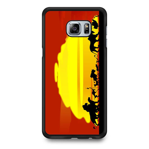 The Lion King Sunset Hakuna Matata Samsung Galaxy S6 Edge+ case