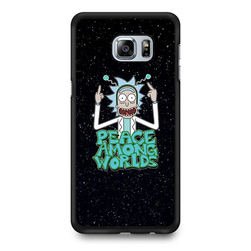 Rick Sanchez Morty Peace Among Worlds Samsung Galaxy S6 Edge+ case