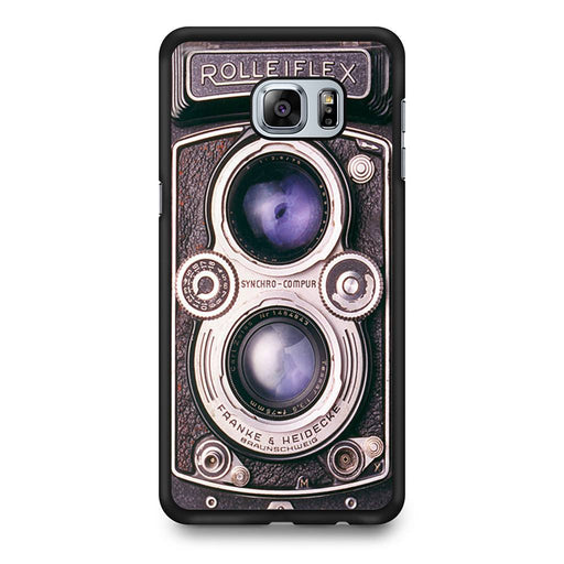 Vintage Rolleiflex camera Samsung Galaxy S6 Edge+ case