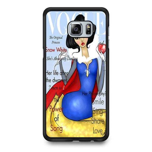 Vogue Snow White Samsung Galaxy S6 Edge+ case