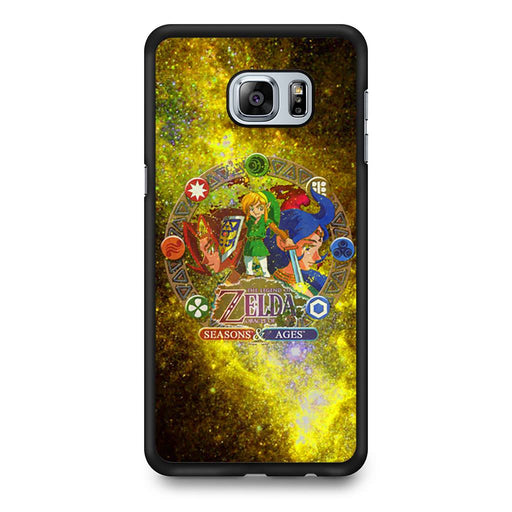 Zelda Seasons and Ages Samsung Galaxy S6 Edge+ case