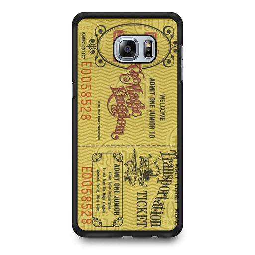 Transportation World Disney World Vintage Disneyland Samsung Galaxy S6 Edge+ case