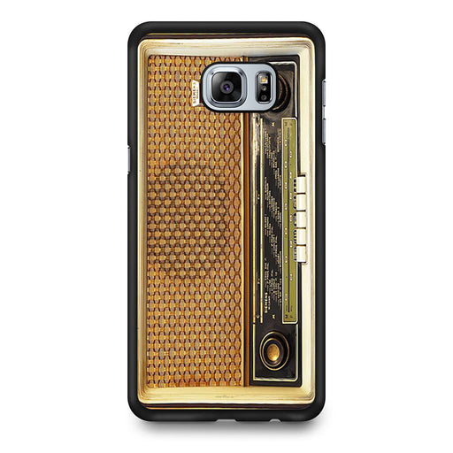 Retro Vintage Old Radio Samsung Galaxy S6 Edge+ case