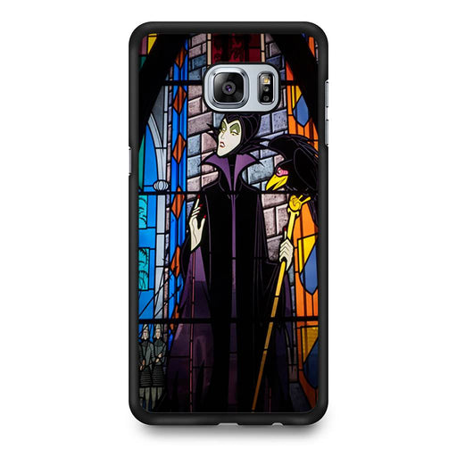 Maleficent Stained Glass Samsung Galaxy S6 Edge+ case