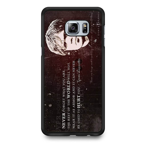 Tyrion Lannister Quote Samsung Galaxy S6 Edge+ case