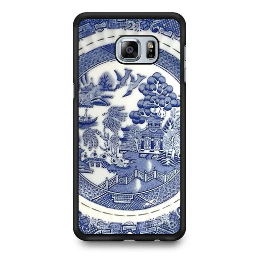 Blue Willow China Pattern Samsung Galaxy S6 Edge+ case