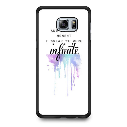 The Perks of Being a Wallflower Quote Samsung Galaxy S6 Edge+ case