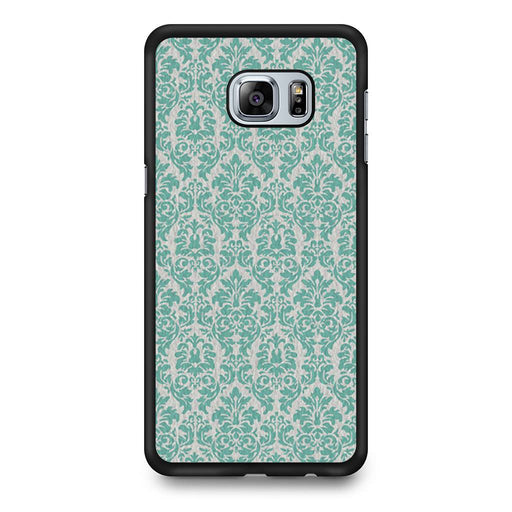 Teal Damask Samsung Galaxy S6 Edge+ case