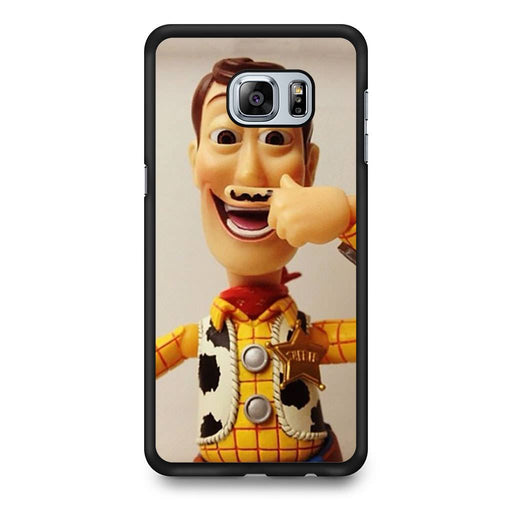 Woody Mustache Toy Story Samsung Galaxy S6 Edge+ case
