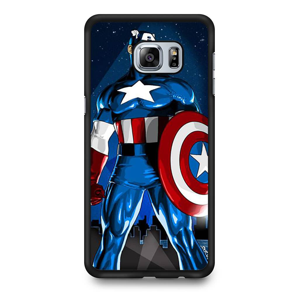 new arrivals 710fb 27d08 Avengers Captain America Shield Samsung Galaxy S6 Edge+ case