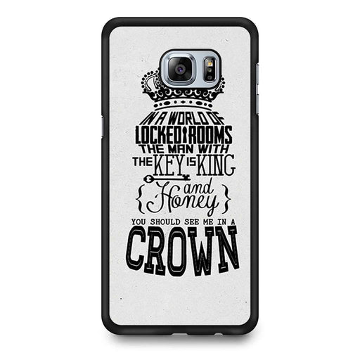 You Should See Me In A Crown Moriarty Quote Samsung Galaxy S6 Edge+ case