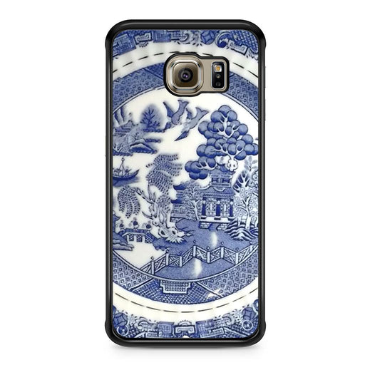 Blue Willow China Pattern Samsung Galaxy S6 Edge case